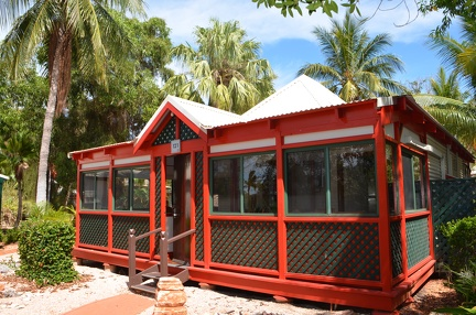 Onze bungalow in Cable Beach Resort.
