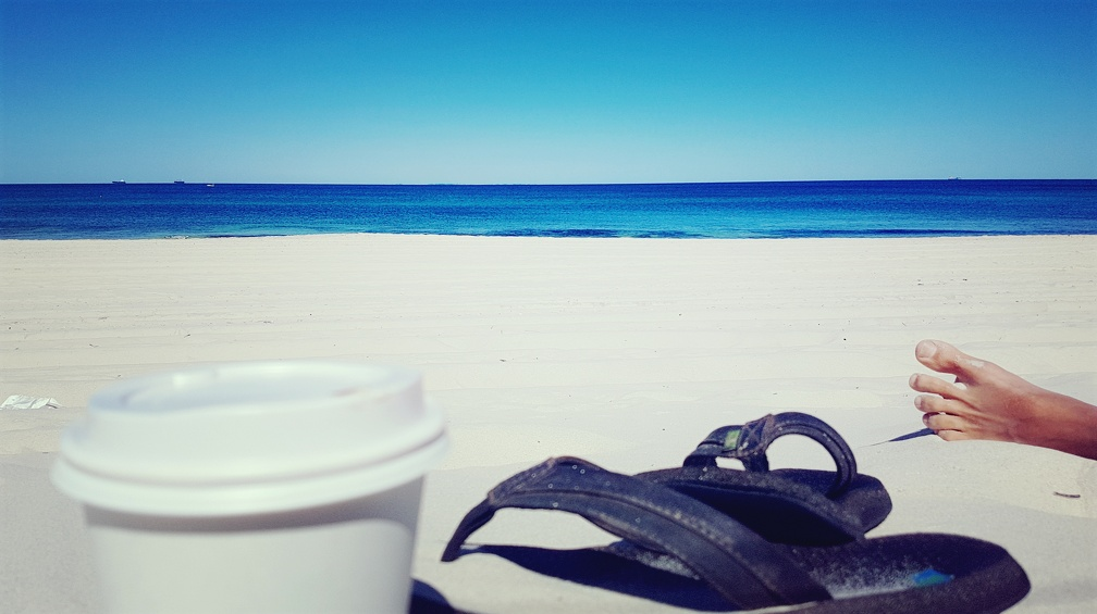 Morning coffee #Cottesloe