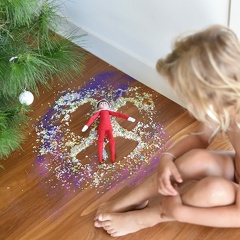 Sprinkle angel elf #elfontheshelf