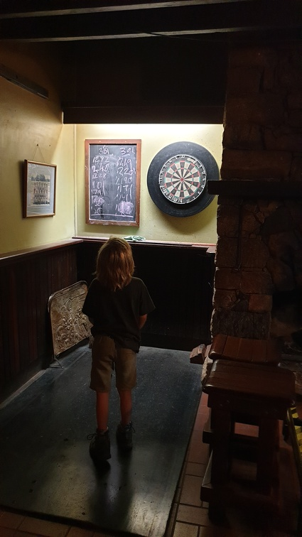 Darts in de pub.